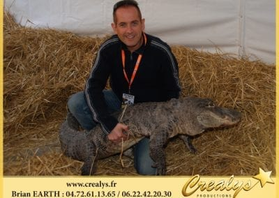 Crocodile Alligator Contact Proche