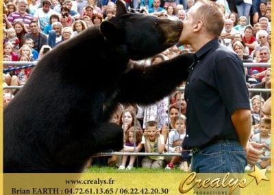 Le bisou de l'ours