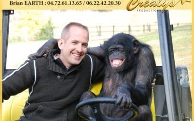 Location chimpanzé vidéos Brétigny sur Orge