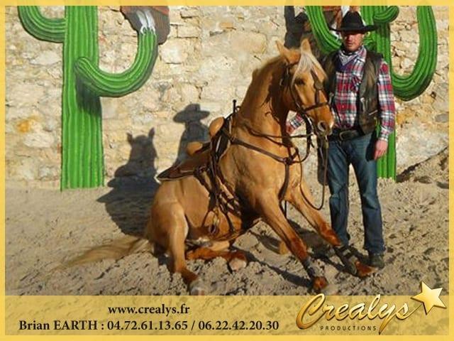 Dressage Cheval CowBoy