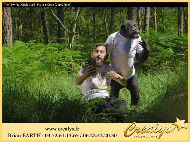 Location chimpanzé vidéos Montrouge